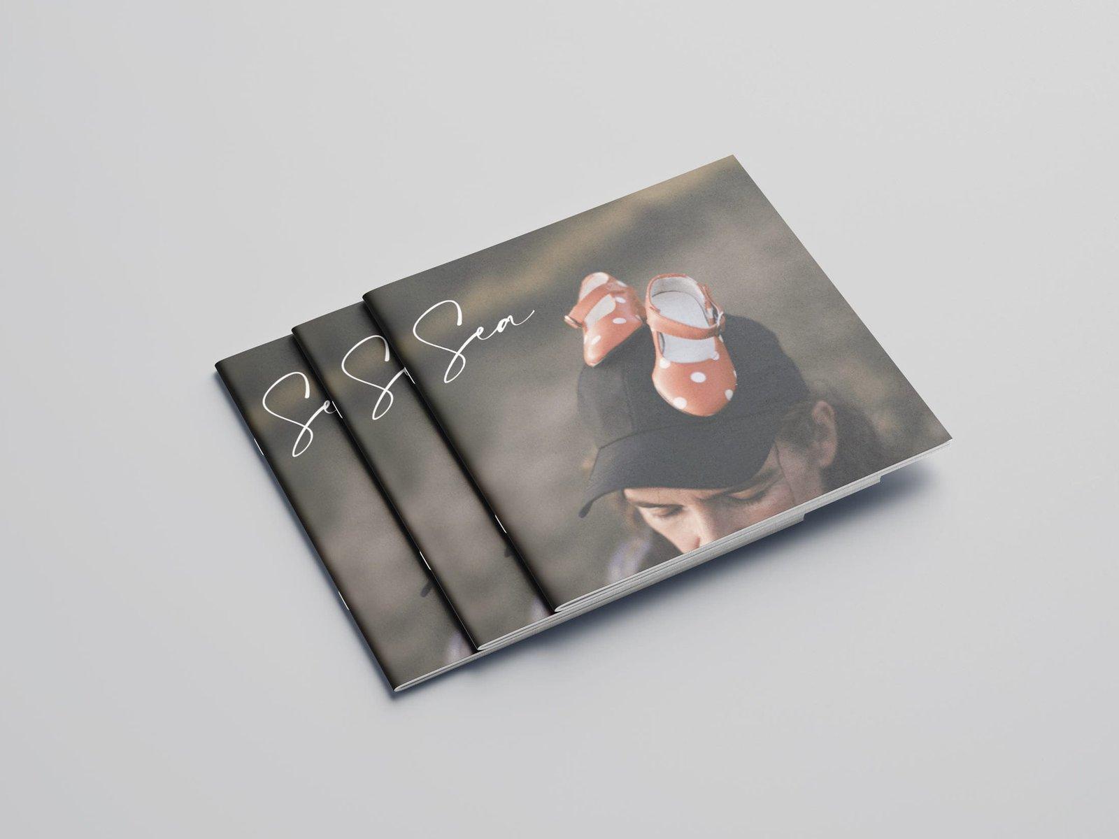 Diseño gráfico de la portada del album de la compositora Itziar Madariaga